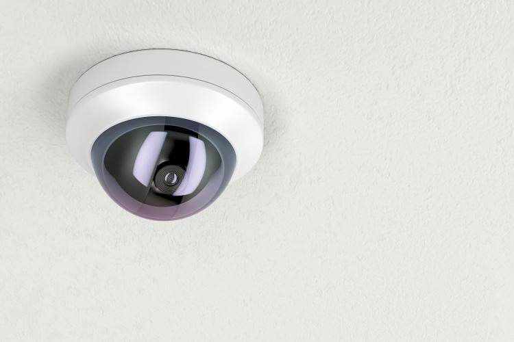 Kompakt overvakningskamera
